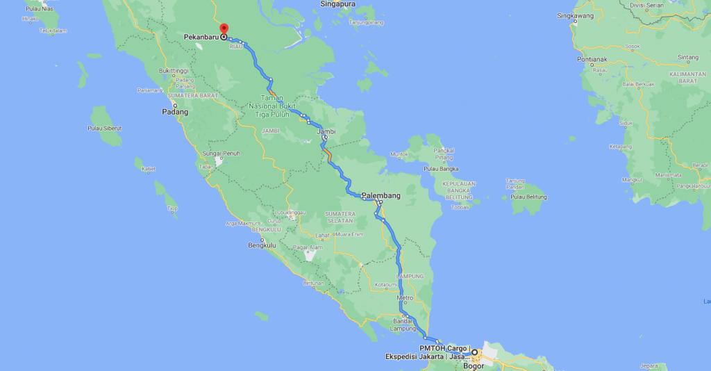 ekspedisi Ongkos Kirim Jakarta Pekanbaru